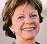 Een portretfoto van Neelie Kroes. BRON: European Commission Audiovisual Library